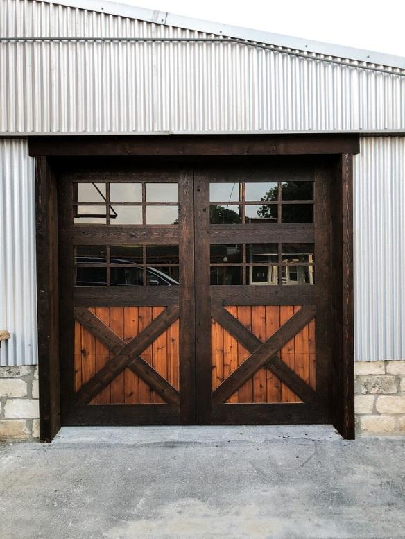Blanco Doors Crossed