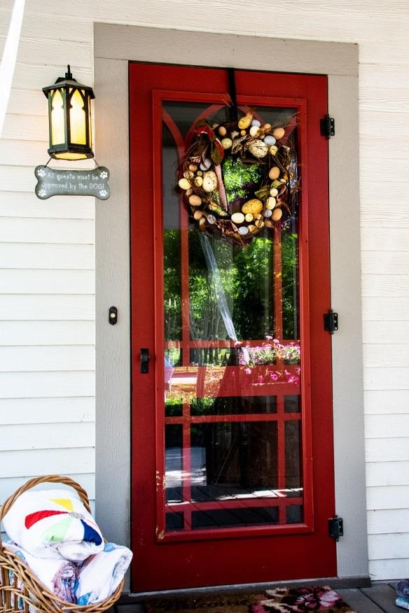 Door - Red
