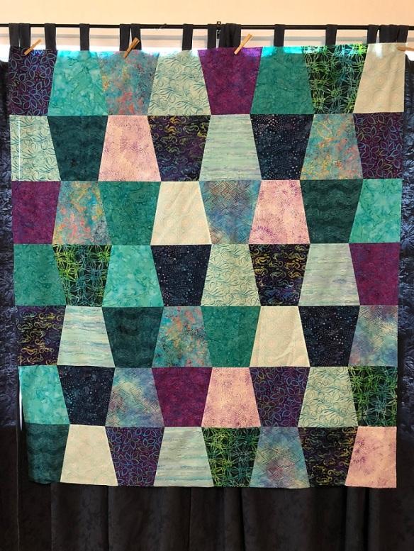 00s Tumbler quilt
