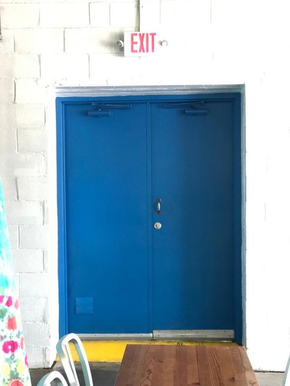 00s Blue Door