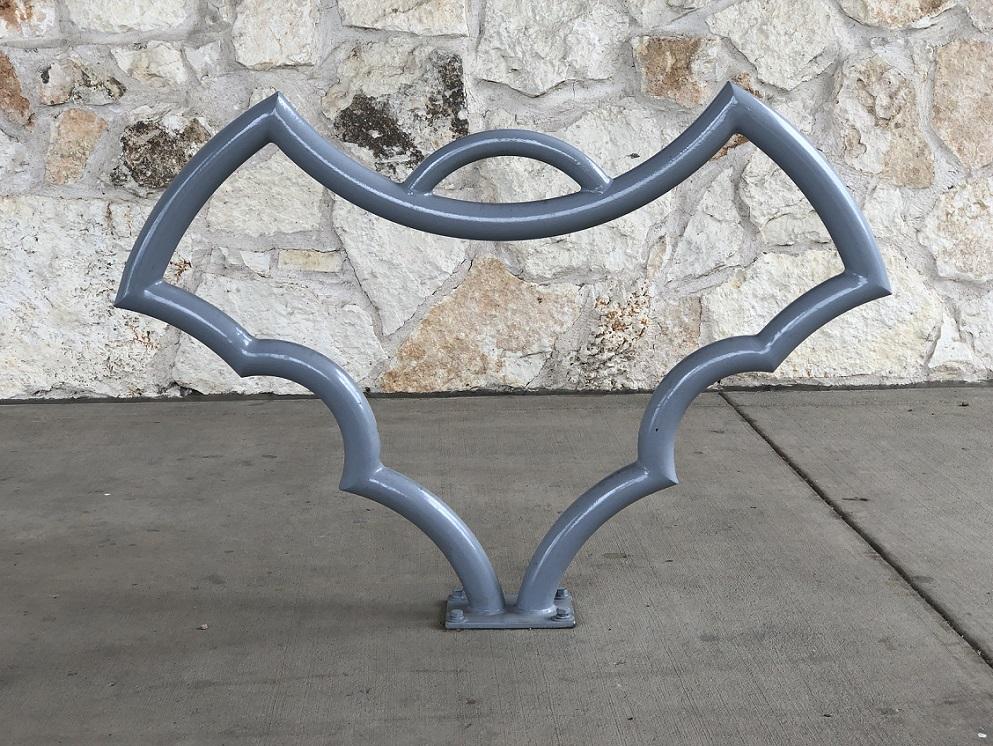 00s Bat bicycle rack