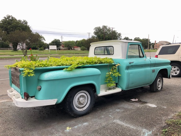 00s Pickup Truck Flower Bed