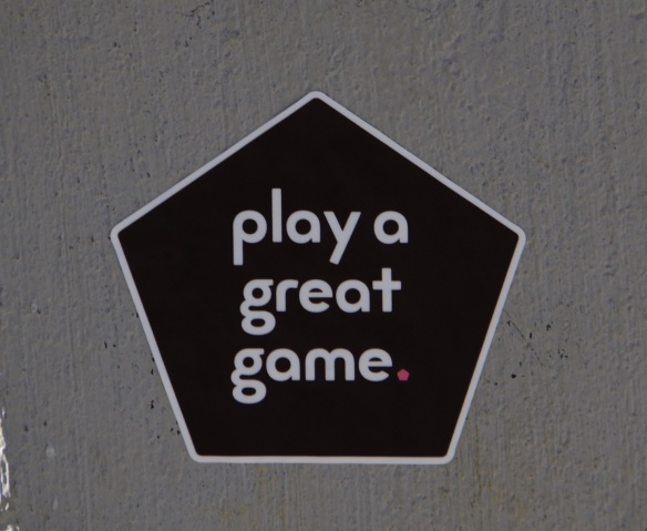 00s Sign - Play a Great Game (2)